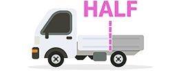 軽トラックの画像